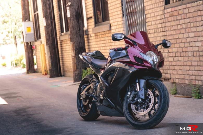 2007 Suzuki GSXR 750 carbon modified