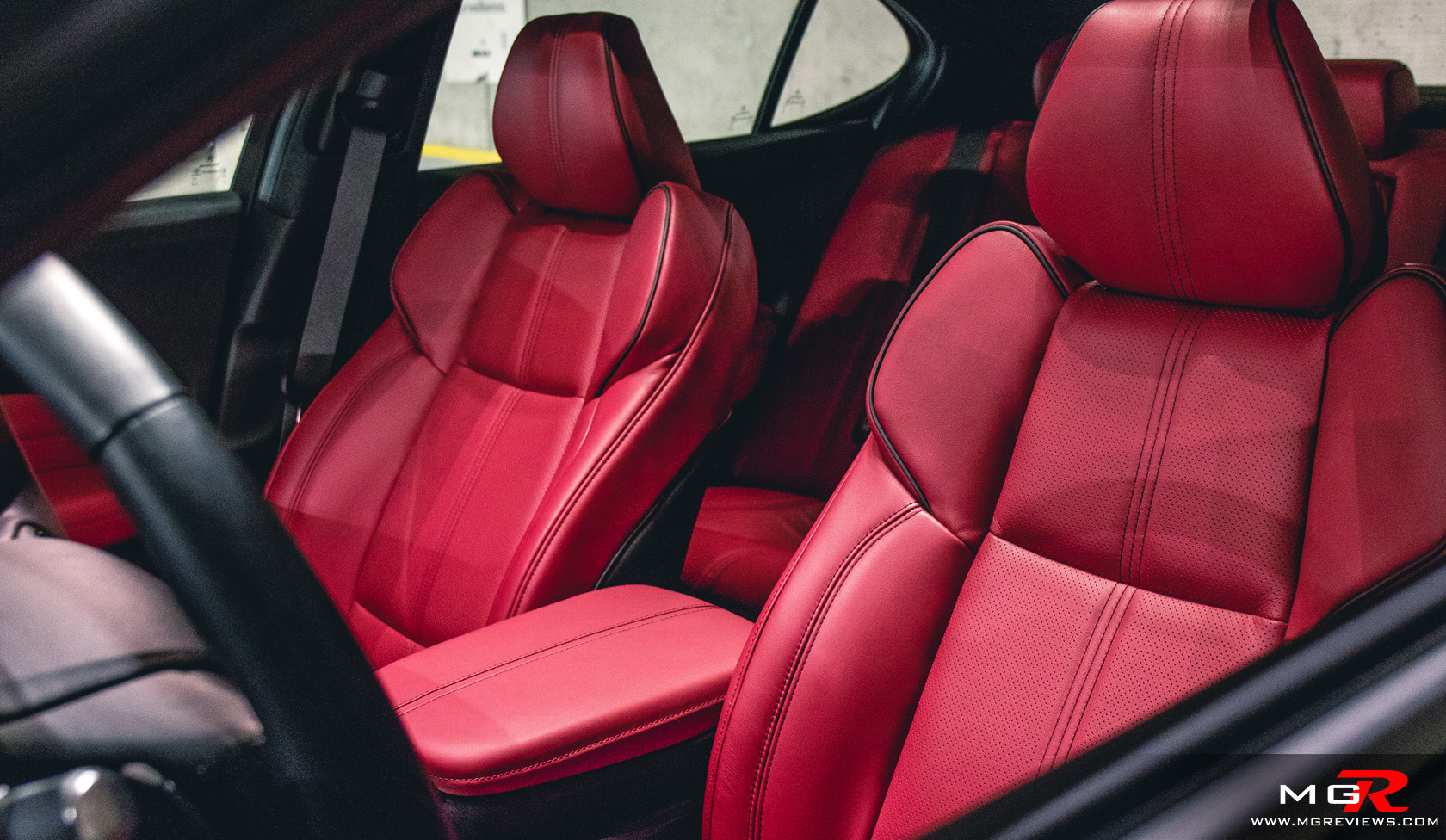 Review Acura TLX ASpec MGReviews - 2018 acura tl seat covers