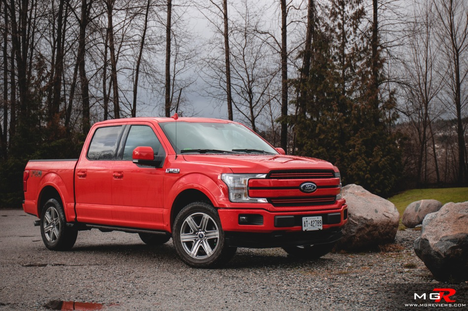 Review  Ford F  Lariat Supercrew