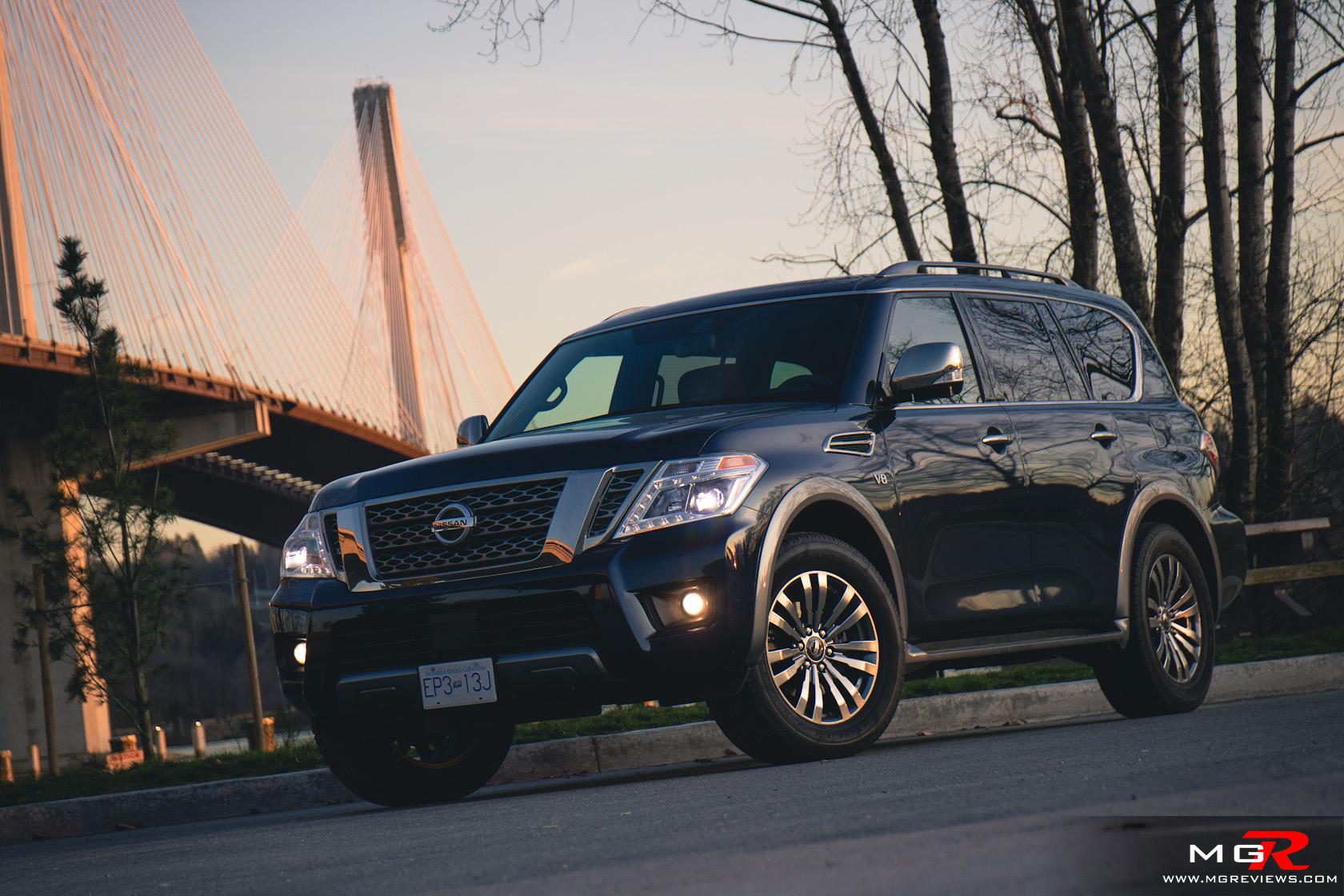 Review: 2018 Nissan Armada Platinum Reserve – M.G.Reviews