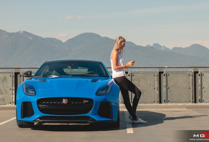 2018 Jaguar F-Type SVR