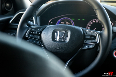 2019 honda insight touring intrior