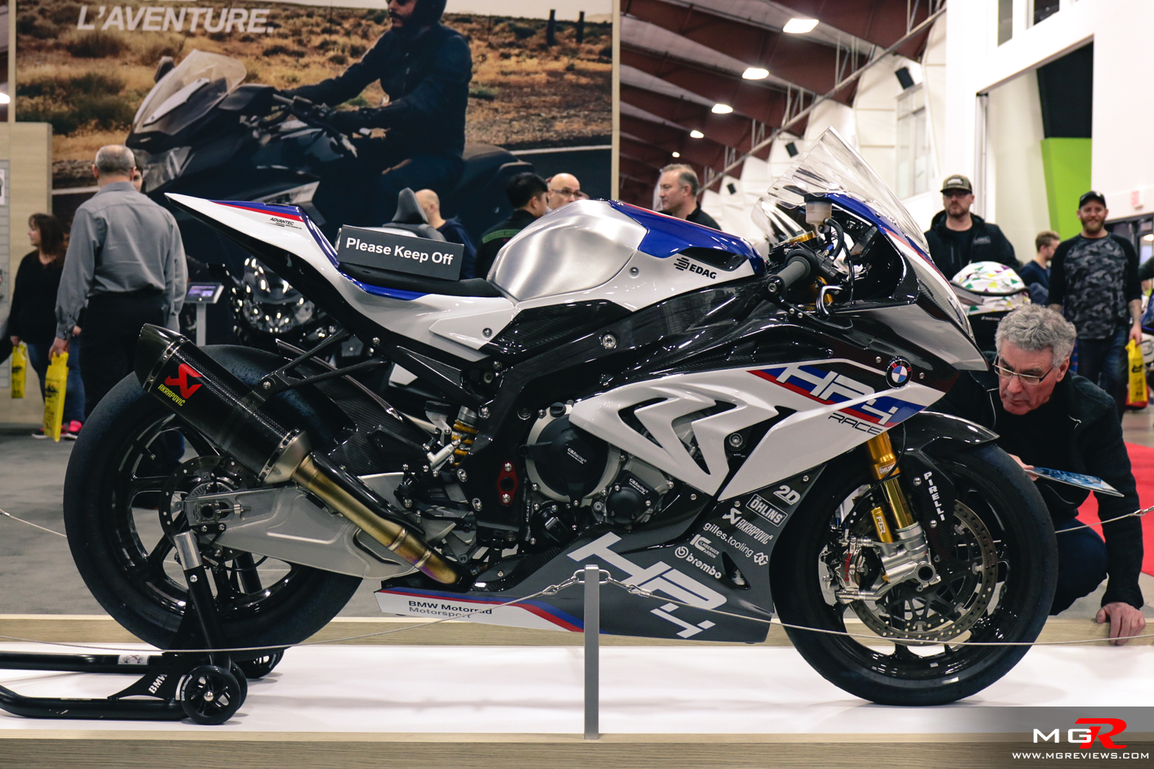 Vancouver Motorcycle Show on Bmw S1000rr Review