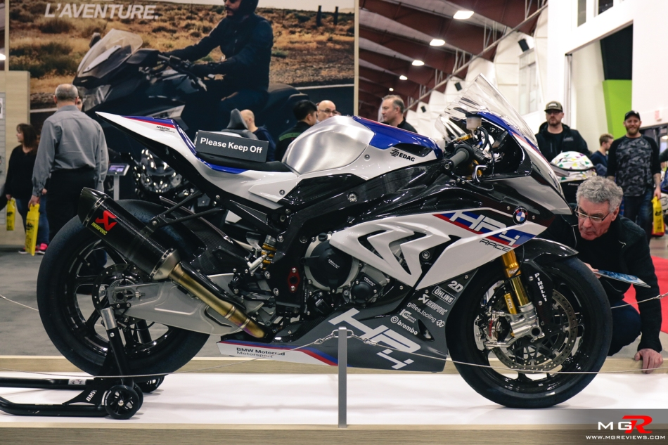 BMW HP4 - 2019 Vancouver Motorcycle Show