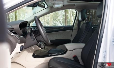 2019 Lincoln MKC Interior
