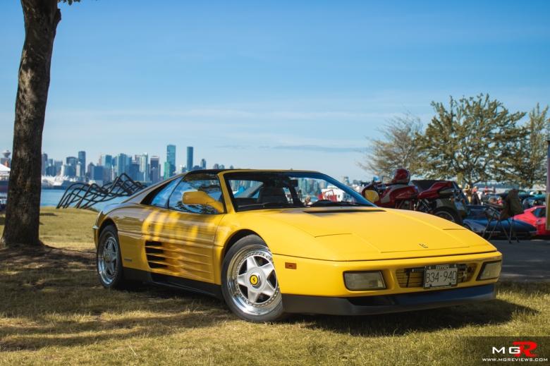 2019 Italian and French Auto Show - North Vancouver ferrari