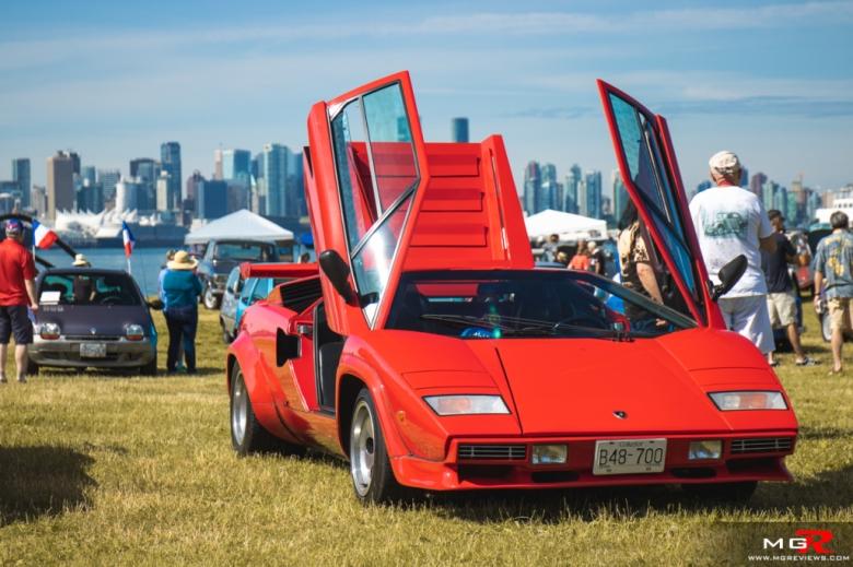 2019 Italian and French Auto Show - North Vancouver lamborghini countach
