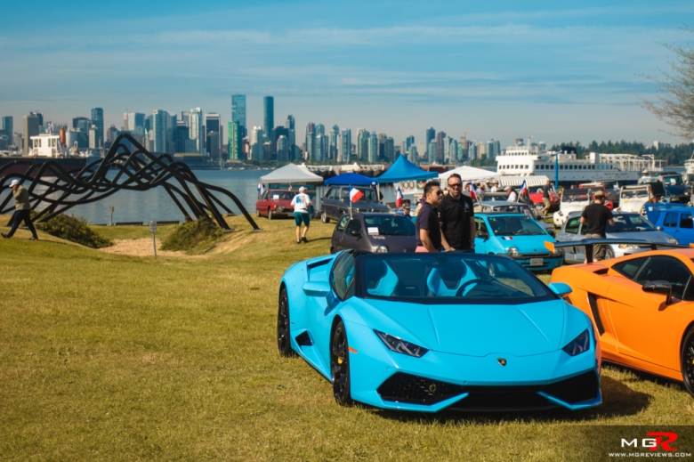 2019 Italian and French Auto Show - North Vancouver lamborghini huracan spyder
