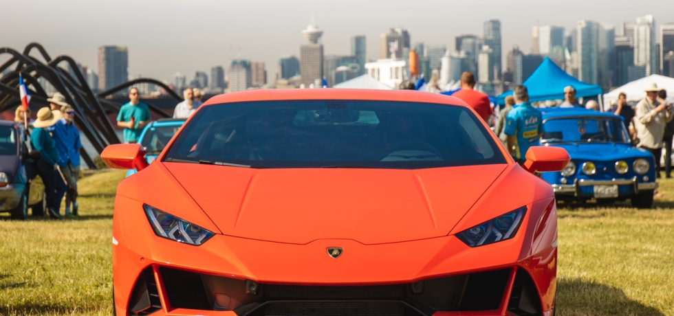 2019 Italian and French Auto Show - North Vancouver lamborghini huracan evo