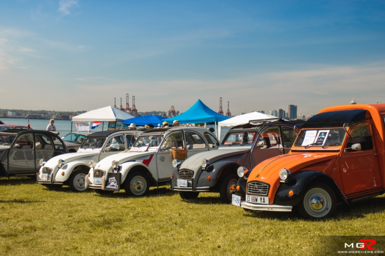 2019 Italian and French Auto Show - North Vancouver citroen 2cv