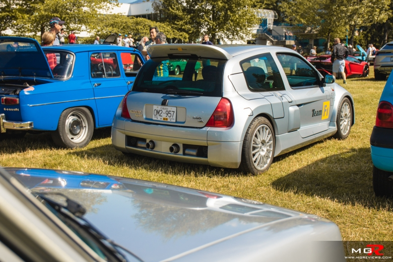 2019 Italian and French Auto Show - North Vancouver renault clio v6