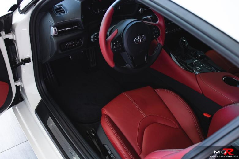 2020 Toyota Supra Interior