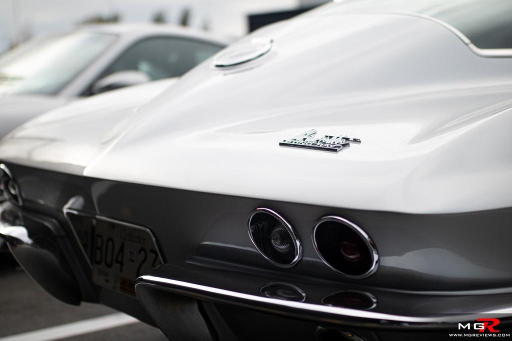 2019 Porsche Cars and Coffee September Chevy Corvette Stingray