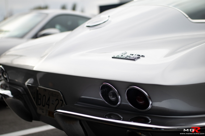 2019 Porsche Cars and Coffee September Chevy Corvette Stingray