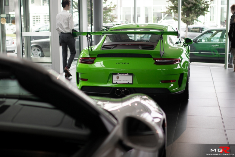 2019 Porsche Cars and Coffee September Porsche GT3