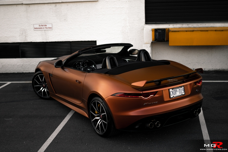 2019 Jaguar F-Type SVR Convertible
