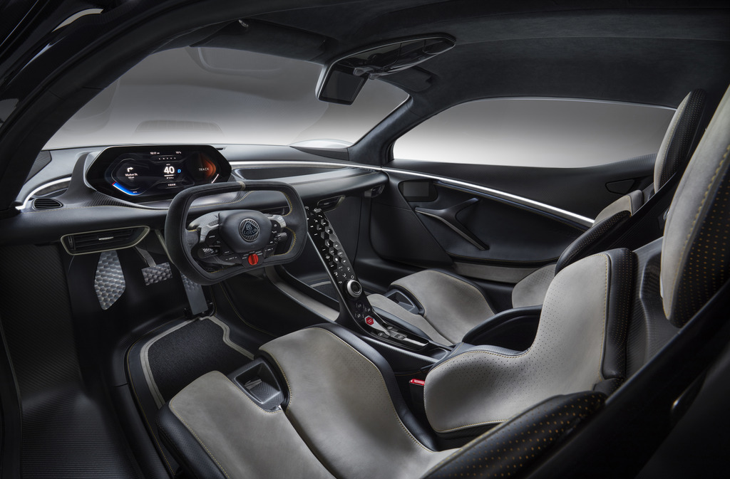 2021 Lotus Evija Interior