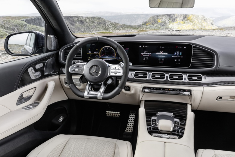 2021 Mercedes-Benz GLE63 AMG Interior