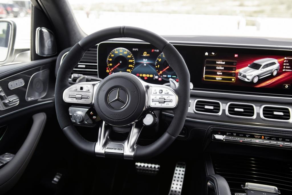 2021 Mercedes-Benz GLS63 AMG Interior