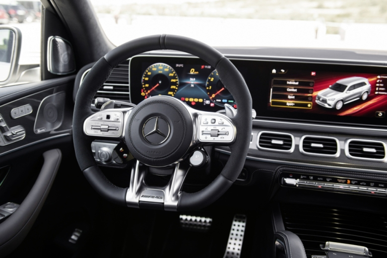 2021 Mercedes-Benz GLS63 AMG Interior