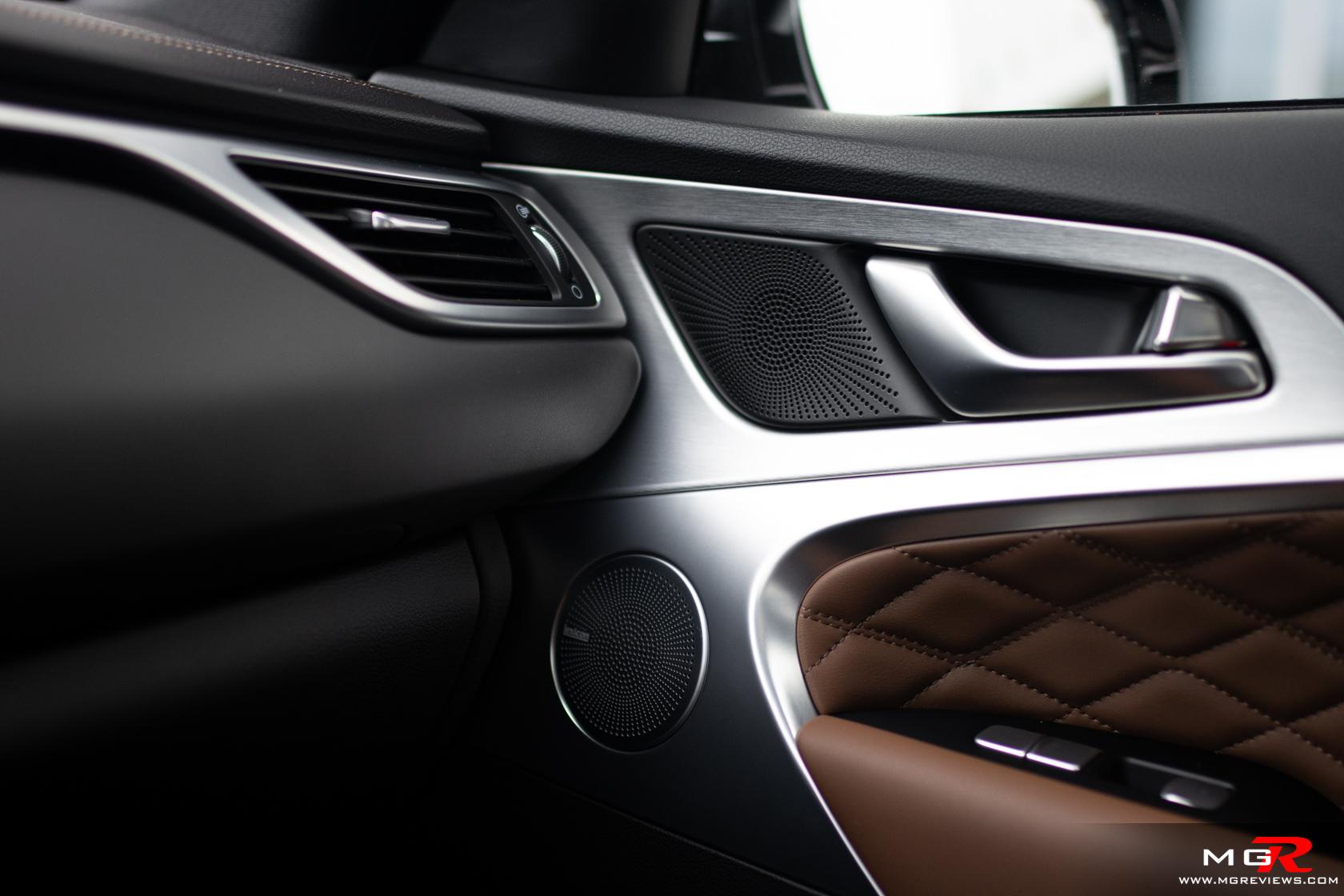 2020 Genesis G70 Prestige Interior