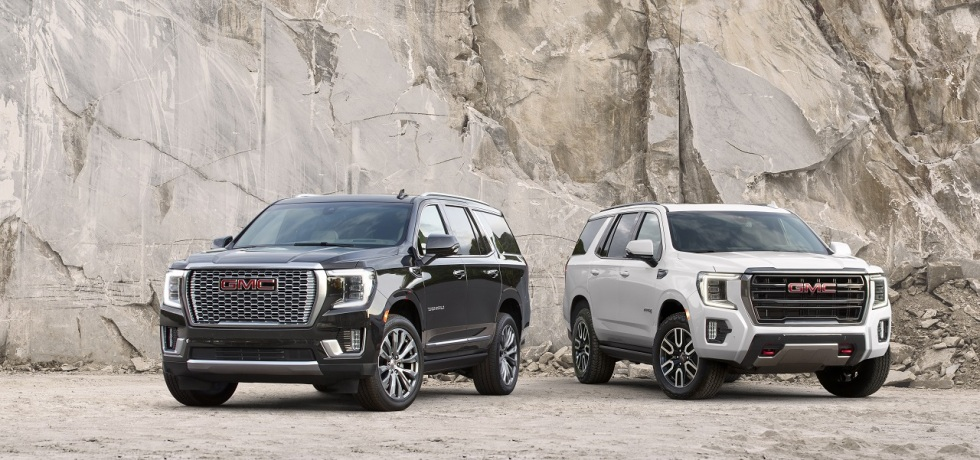 2021 GMC Yukon AT4 and Denali