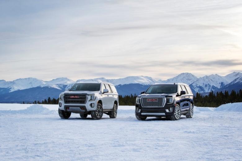 2021 GMC Yukon AT4 and Denali