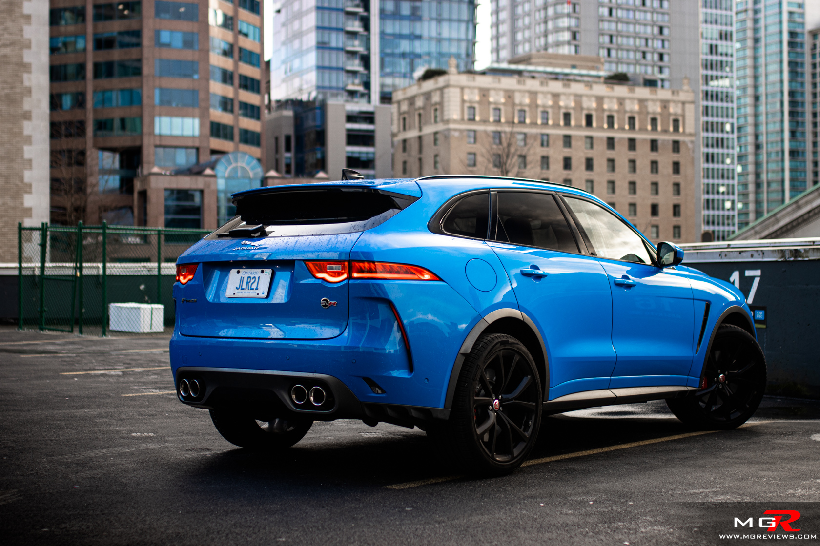2020 Jaguar F-Pace SVR