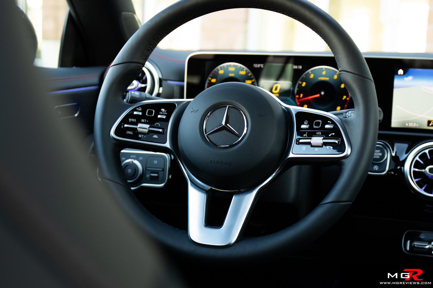 2020 Mercedes-Benz CLA 250 4MATIC Interior